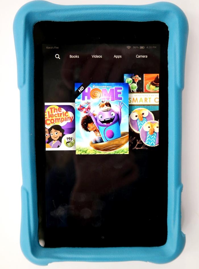 Amazon Fire HD Kids Edition Carousel