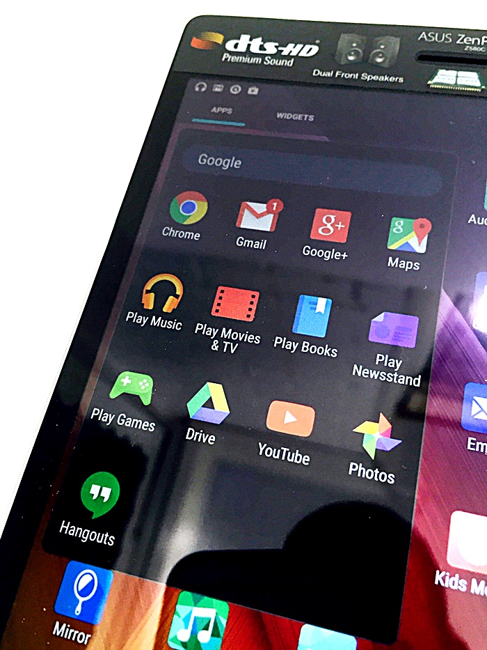 Asus ZenPad S8 Google
