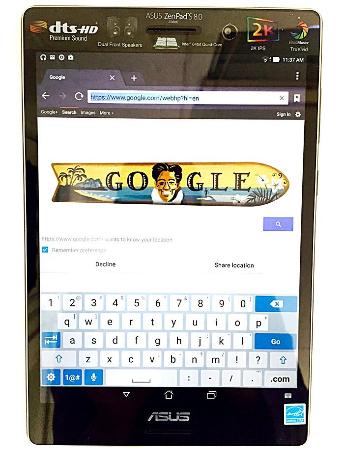 Asus ZenPad S8 Keyboard