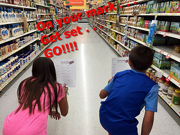 The Box Tops Game! Menu Challenge At Walmart