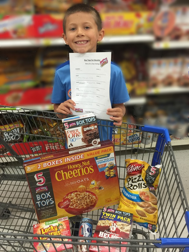 Box Tops For Education Logans Menu
