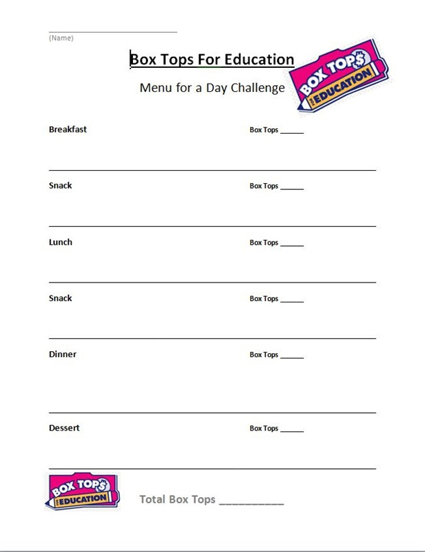 Save the picture and print it out so your kids can do the challenge too!