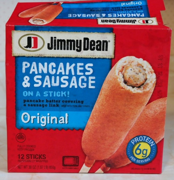 Jimmy Dean Pancakes & Sausage