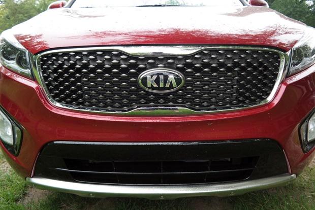 Kia Sorento review Front