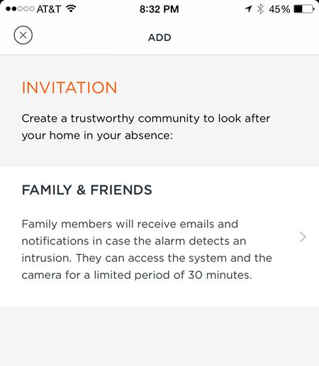 Myfox Community on the App