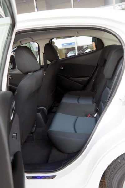 2015 Scion iA Back Seat