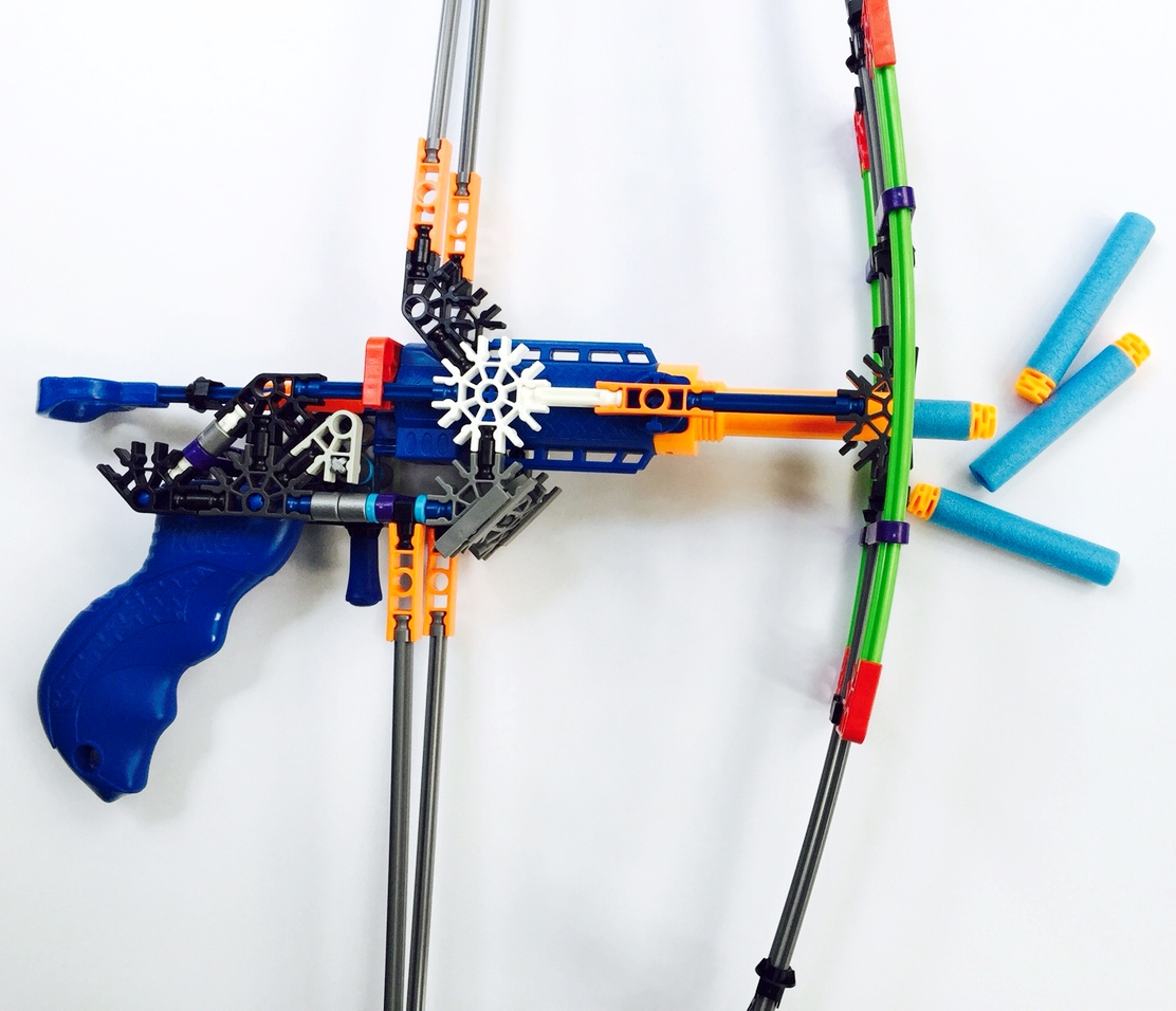 Knex Battle Bow Building Set With Foam Darts