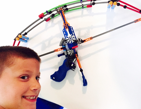 K'NEX Battle Bow Building Set Review & Giveaway