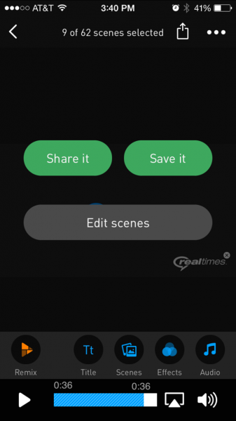 RealTimes App Share