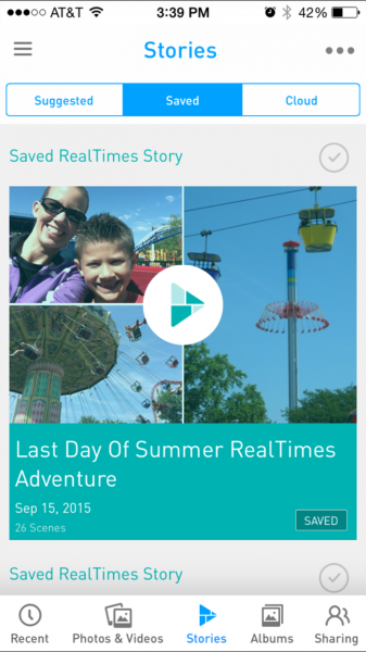RealTimes App Story