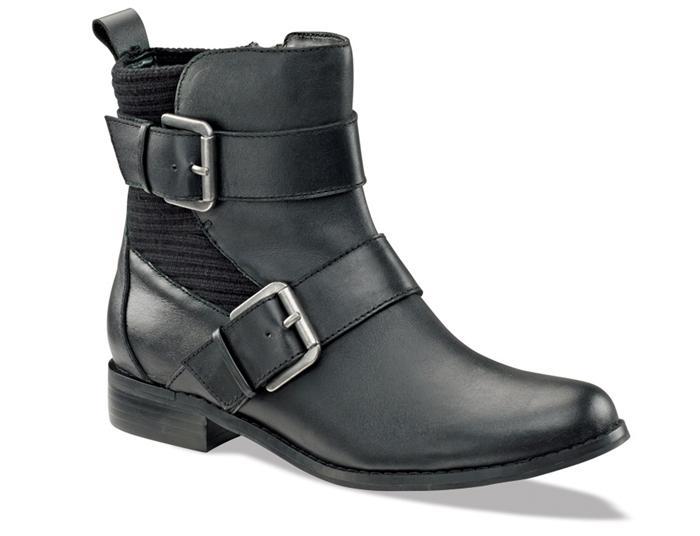 Aetrex Fall Boots Black
