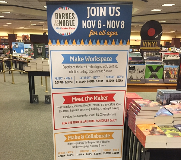 Don't Miss The Barnes & Noble Mini Maker Faire