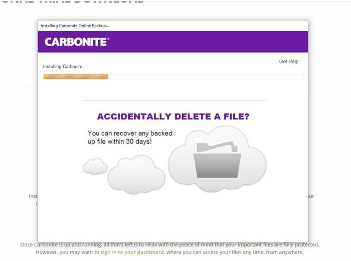 Carbonite Installer