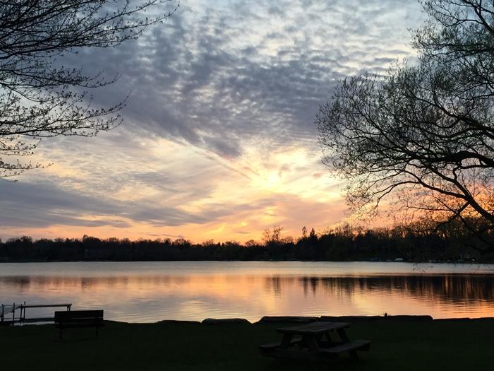 Michigan Sunset Fall