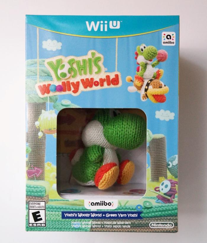 Nintendo Yoshis Wooly World