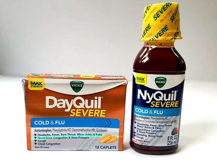 NyQuil Severe & DayQuil Severe