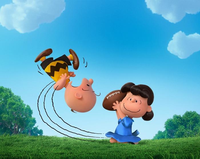 Peanuts Movie Charlie Lucy