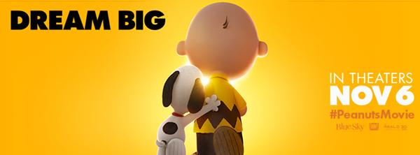 Peanuts Movie Dream Big