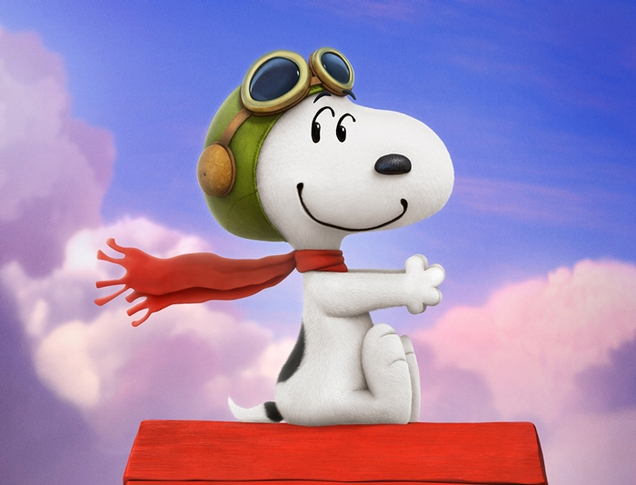 Peanuts Movie Snoopy Flying Ace