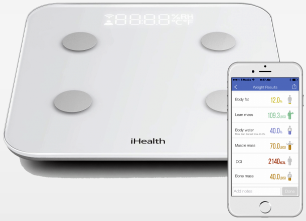 iHealth Scale and App