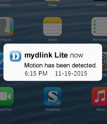 D-Link Notification