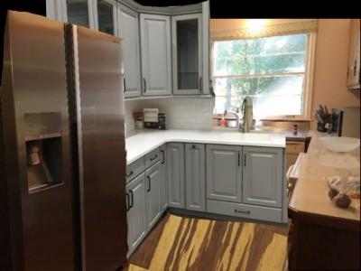HP Kitchen Half White Cabinets