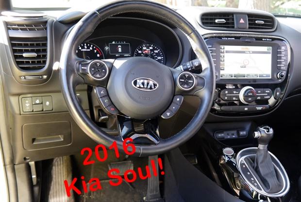 2016 Kia Soul!