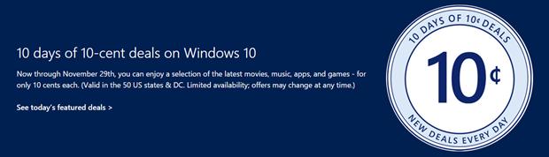 Microsoft 10 Cent