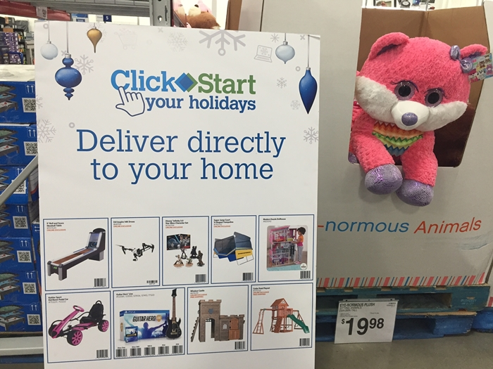 Sam's Club Click Start Toys