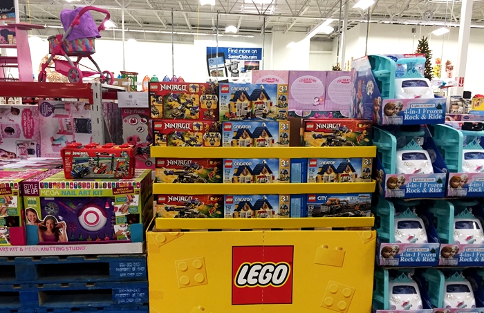Sam's Club Lego