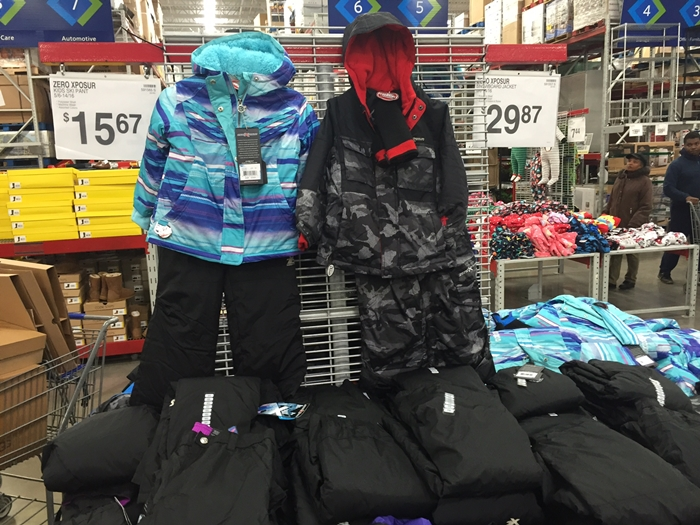 Sam's Club Snow Gear