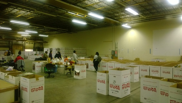Toys For Tots Warehouse