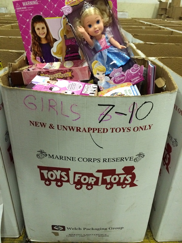 Toys For Tots Gifts