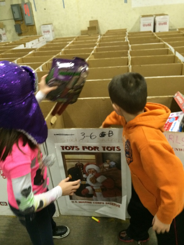 Toys For Tots Giving Back