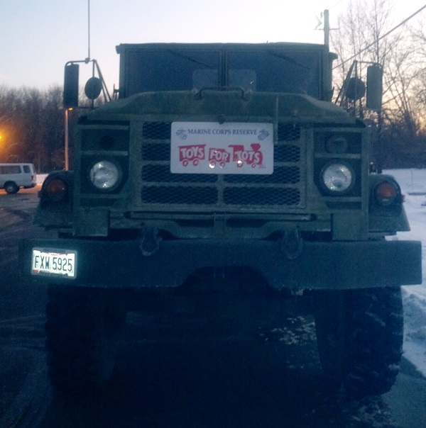 Toys For Tots Truck