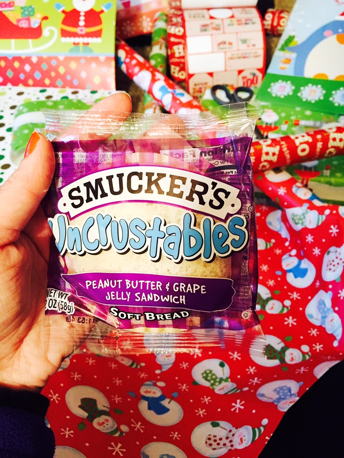 Uncrustables Holiday Fun