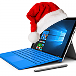 MS Surface Santa
