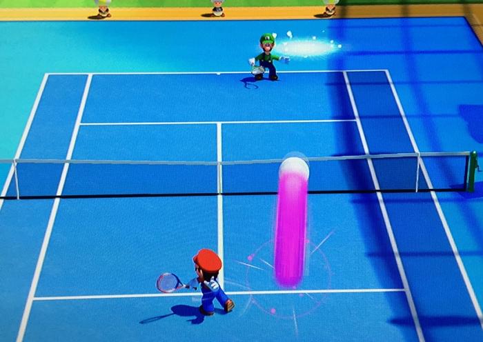 Mario Tennis Giant Ball