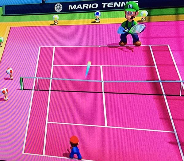 Mario Tennis Ultra Smash Big Luigi