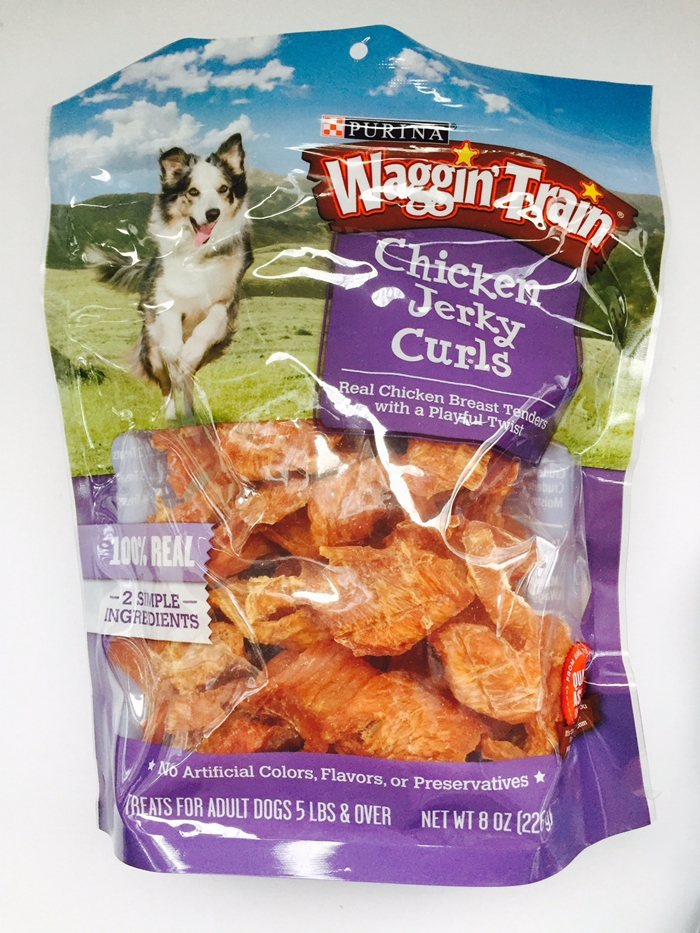 Waggin' Train Chicken Jerky Curlss