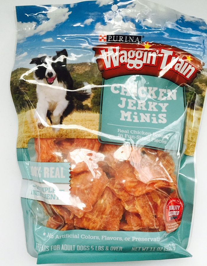 Waggin' Train Chicken Jerky Minis