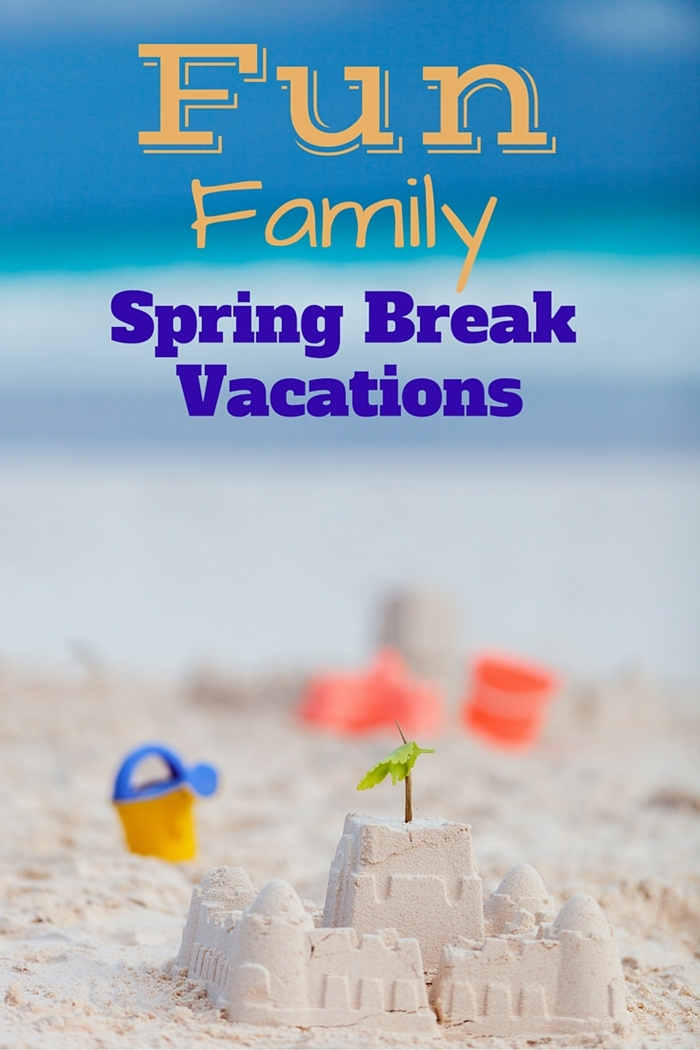 Fun family spring break vacation ideas for Winter break vacation spots
