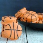Easy March Madness Recipe Slam Dunk Basketball Cookies