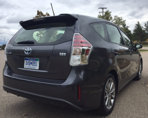 2016 Prius Back