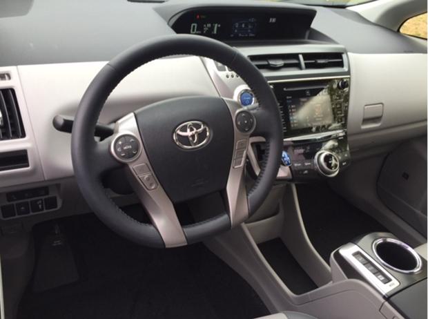 2016 Prius Driver View