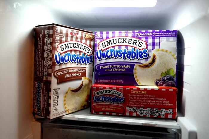 Uncrustables Freezer