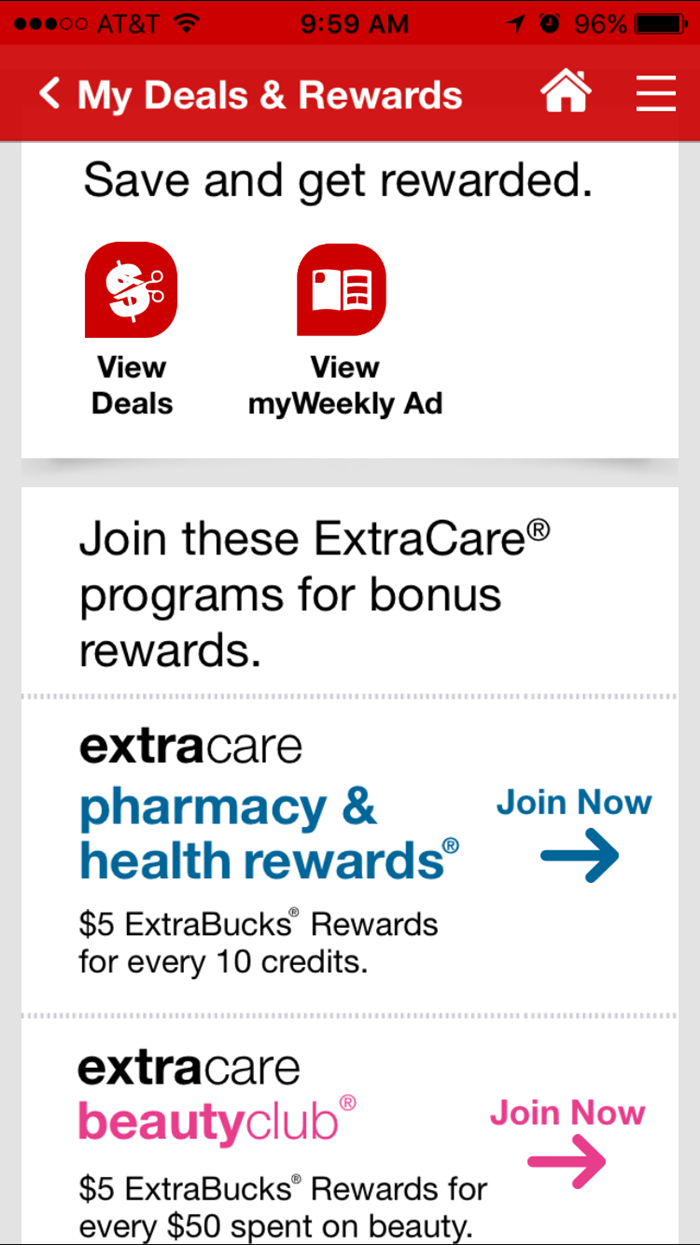 CVS Pharmacy App