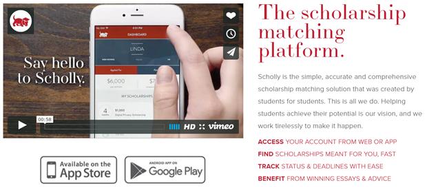 Best College Apps Scholly