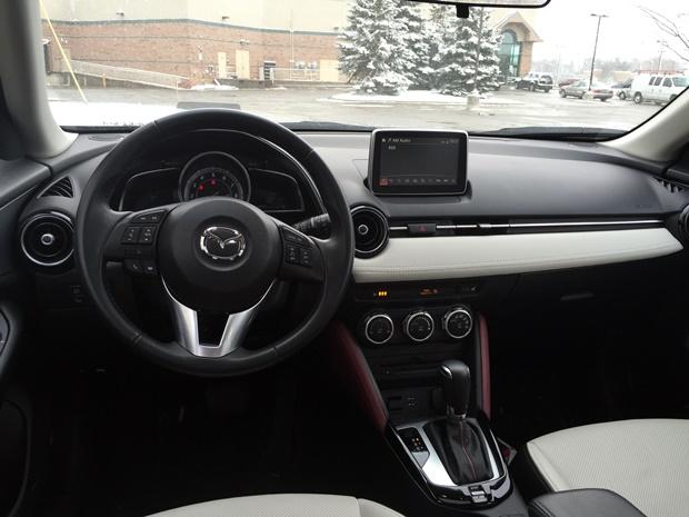 Mazda CX-3 Driver's View