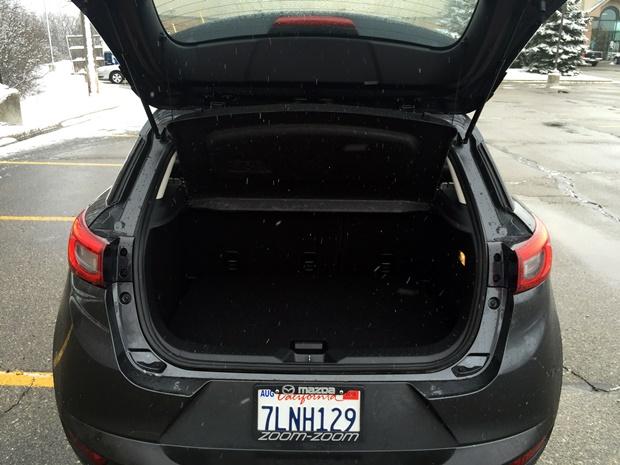 Mazda CX-3 Trunk